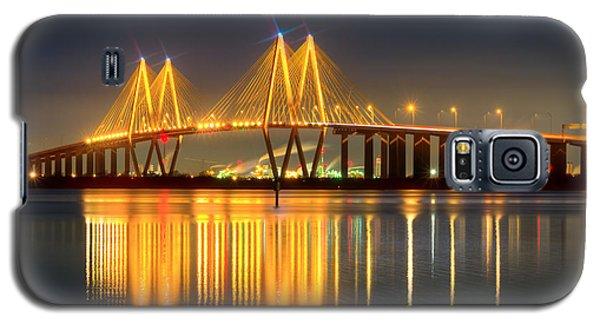 Fred Hartman Bridge At Night Galaxy S5 Case