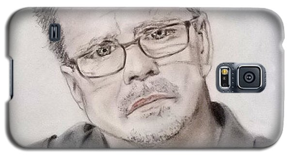 Galaxy S5 Case featuring the drawing Freddie Roach by Jim Fitzpatrick