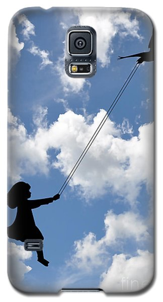 Free As A Bird Galaxy S5 Case by Marvin Blaine