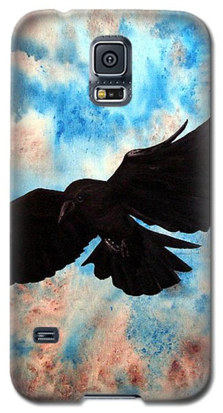Galaxy S5 Case featuring the painting Free Bird by Oddball Art Co by Lizzy Love