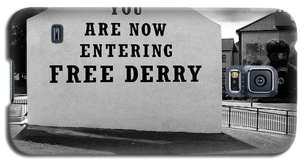 Free Derry Corner Galaxy S5 Case by Nina Ficur Feenan