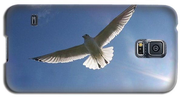 Galaxy S5 Case featuring the photograph Freedom Flight by Jackie Mueller-Jones