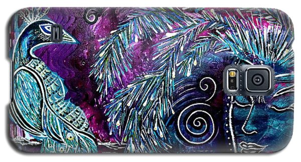 Galaxy S5 Case featuring the painting Freedom by Julie  Hoyle
