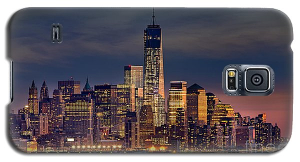 Freedom Tower Construction End Of 2013 Galaxy S5 Case by Jerry Fornarotto