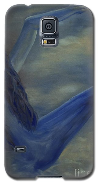 Galaxy S5 Case featuring the painting Freefall by Stuart Engel