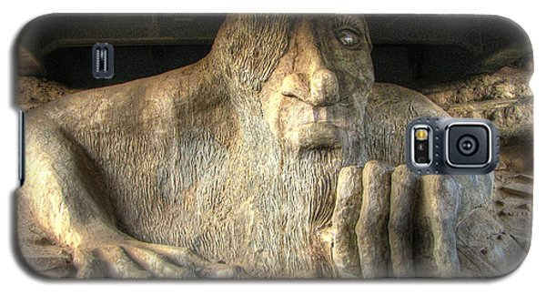 Galaxy S5 Case featuring the photograph Fremont Public Art by Chris Anderson