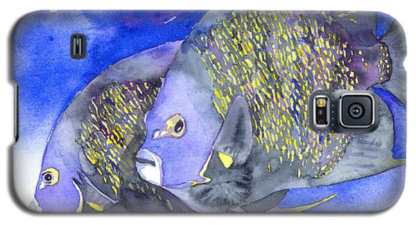 French Angelfish Galaxy S5 Case