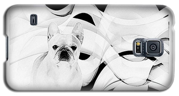 Galaxy S5 Case featuring the painting French Bulldog by Barbara Chichester