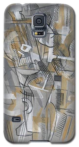 Galaxy S5 Case featuring the digital art French Curves 1 by Clyde Semler
