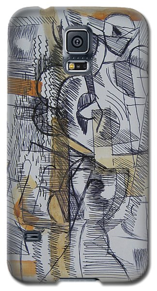 Galaxy S5 Case featuring the digital art French Curves 2 by Clyde Semler