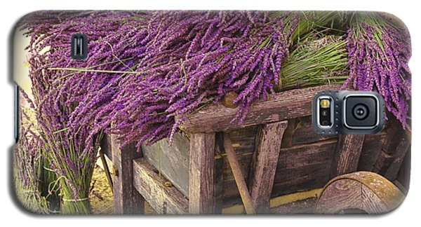 French Lavender Cart Galaxy S5 Case
