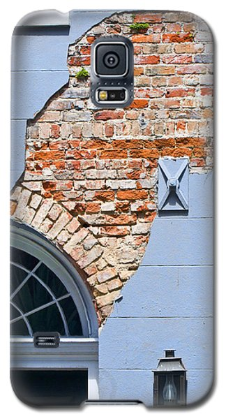 Galaxy S5 Case featuring the photograph French Quarter Architecture by Ray Devlin