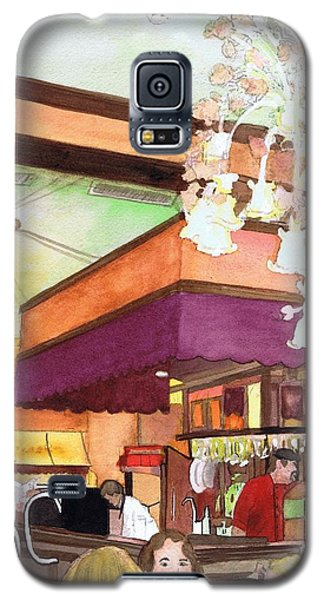 French Quarter Dining-coffee Pot Restaurant Galaxy S5 Case