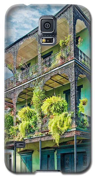 French Quarter Ferns Galaxy S5 Case