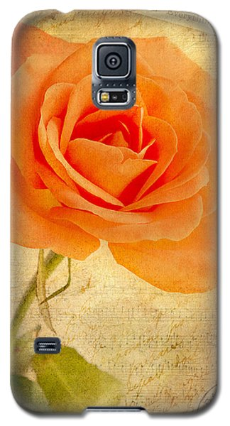 Galaxy S5 Case featuring the photograph French Rose by Kim Andelkovic