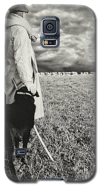French Shepherd - B W Galaxy S5 Case