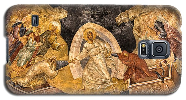 Fresco In Chora Church In Istanbul Galaxy S5 Case by Marion McCristall