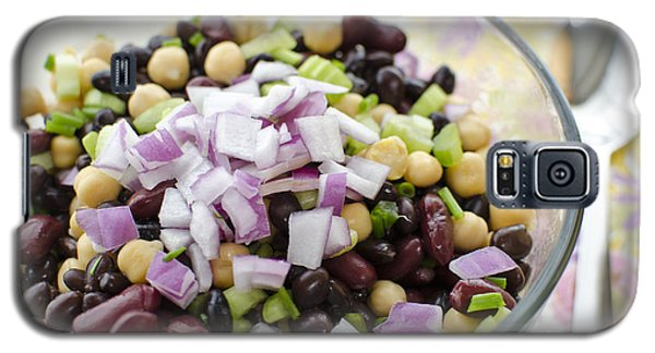 Galaxy S5 Case featuring the photograph Fresh Bean Salad by Maria Janicki