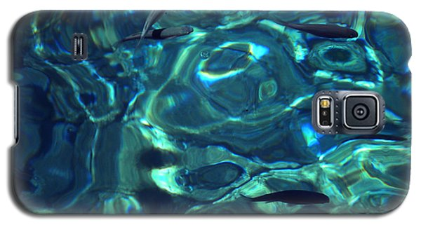 Galaxy S5 Case featuring the photograph Fresh Clean Santorini Ocean  Water by Colette V Hera  Guggenheim