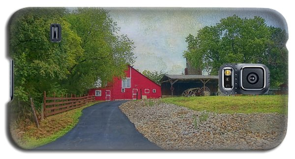 Galaxy S5 Case featuring the photograph Fresh Country Charm by Liane Wright