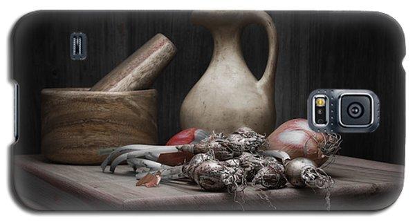 Fresh Onions With Pitcher Galaxy S5 Case by Tom Mc Nemar
