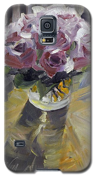 Galaxy S5 Case featuring the painting Fresh by Pattie Wall
