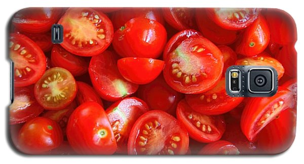 Fresh Red Tomatoes Galaxy S5 Case by Amanda Stadther