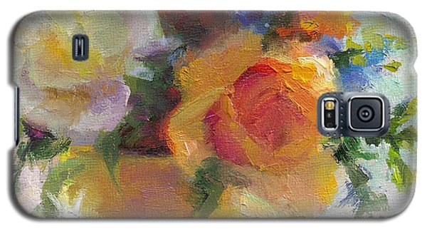 Fresh - Roses In Teacup Galaxy S5 Case