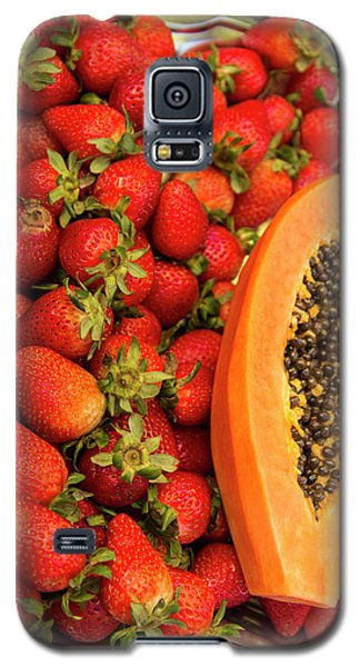 Fresh Tropical Fruit For Sale Galaxy S5 Case