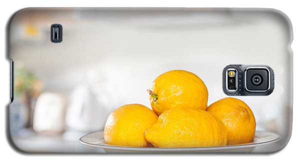 Freshly Picked Lemons Galaxy S5 Case by Amanda Elwell