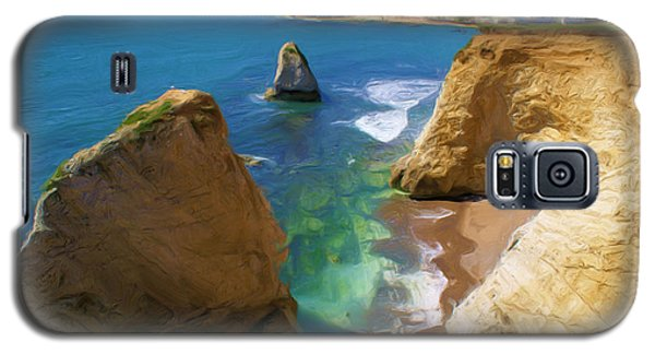 Galaxy S5 Case featuring the digital art Freshwater Bay by Ron Harpham