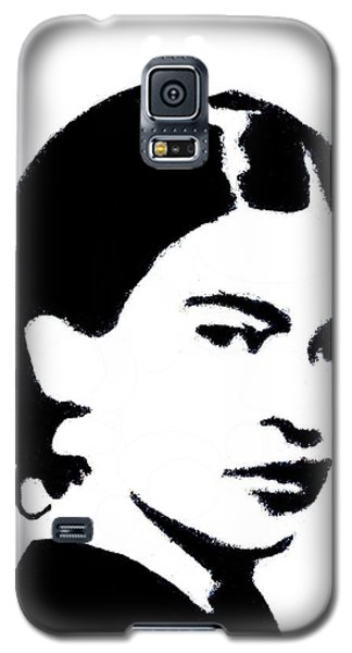 Frida Black And White Galaxy S5 Case
