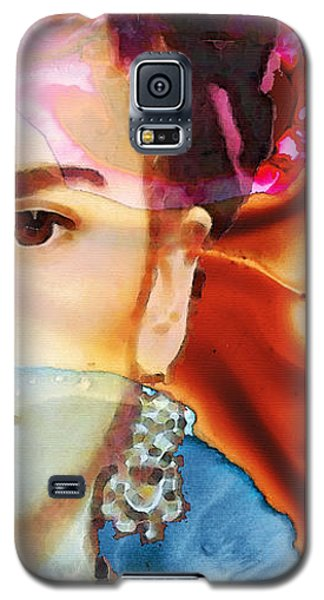Frida Kahlo Art - Seeing Color Galaxy S5 Case