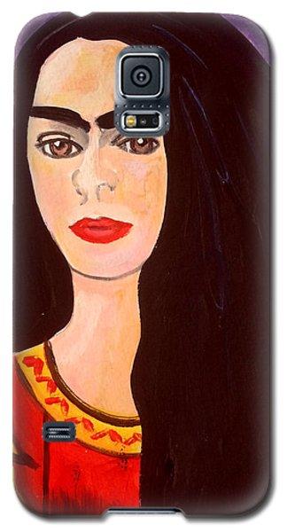 Frida Kahlo Young Galaxy S5 Case
