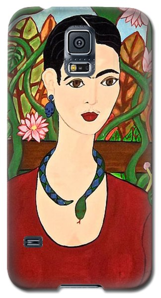 Frida With Vines Galaxy S5 Case