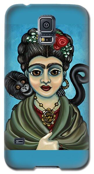 Frida's Monkey Galaxy S5 Case