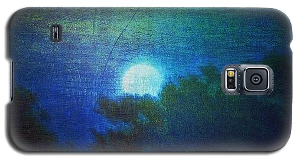 Friday 6/13/14 Full Moon - The Honey Galaxy S5 Case by Paul Cutright
