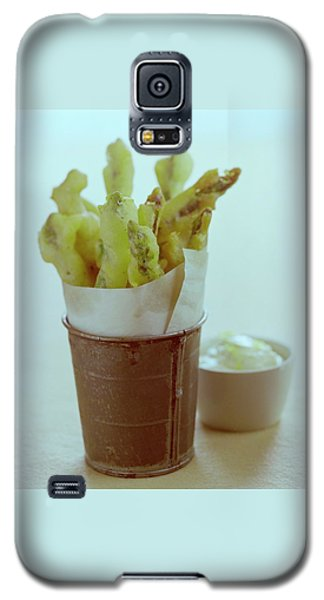 Fried Asparagus Galaxy S5 Case by Romulo Yanes