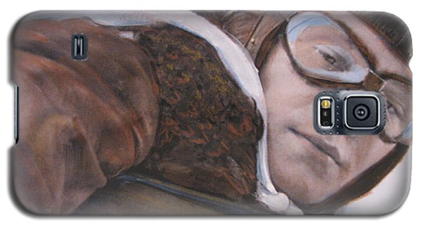 Galaxy S5 Case featuring the painting Friend And Foe by Vikram Singh