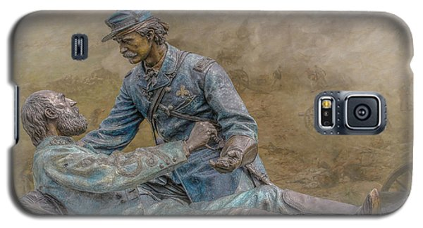 Friend To Friend Monument Gettysburg Version Two Galaxy S5 Case by Randy Steele