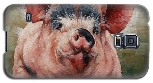 Friendly Pig Galaxy S5 Case