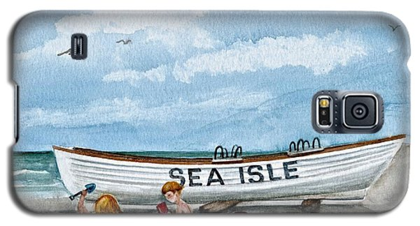 Friends By The Sea  Galaxy S5 Case by Nancy Patterson
