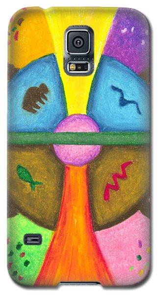 Friends In The Earth Mandala Galaxy S5 Case