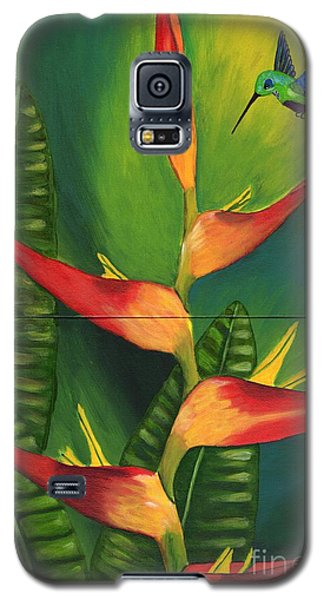 Galaxy S5 Case featuring the painting Friendship by Laura Forde