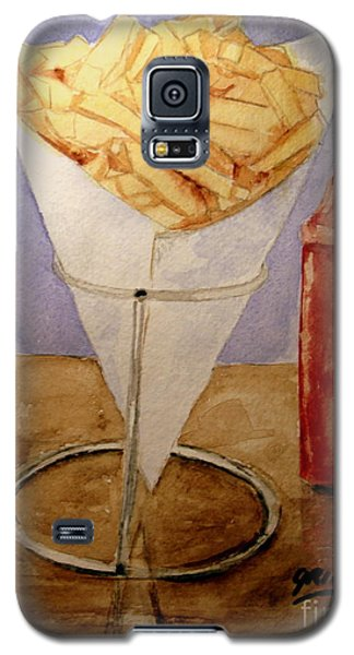 Fries For Lunch Galaxy S5 Case by Carol Grimes