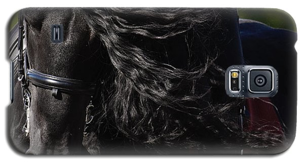 Galaxy S5 Case featuring the photograph Friesian Beauty D8197 by Wes and Dotty Weber
