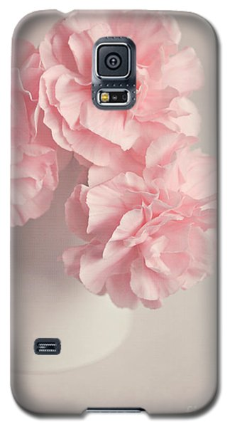 Frilly Pink Carnations Galaxy S5 Case