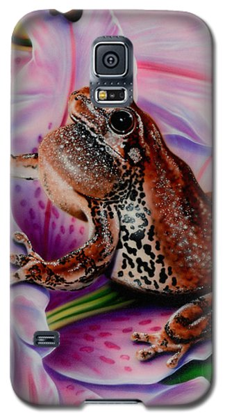Frog Flower Galaxy S5 Case