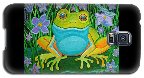 Frog On A Lily Pad Galaxy S5 Case