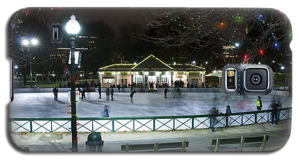 Frog Pond Ice Skating Rink In Boston Commons Galaxy S5 Case